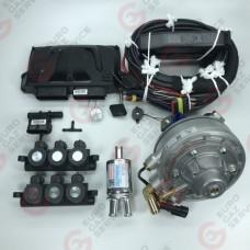 Комплект ГБО DIGITRONIC IQ3D6 +EMER PALLADIO +рампы AEB R02-E62-I40
